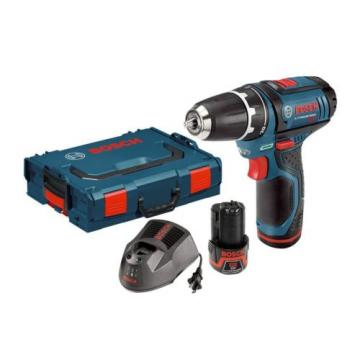 Bosch PS31-2AL 12-Volt Max Lithium-Ion 3/8-Inch 2-Speed Drill/Driver Kit with 2