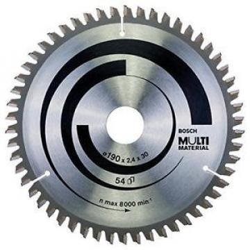 Bosch 2608640509 Lama Circolare Multi-Material, 190 x 30, 54D