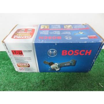 "Bosch 18V Li-Ion Cordless 4 1/2"" Cutoff/Angle Grinder CAG180B"