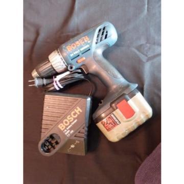 "Bosch 3960K 24V Cordless 1/2"" Drill + 24V Battery BAT030 + BC004 60 Min. Charger"