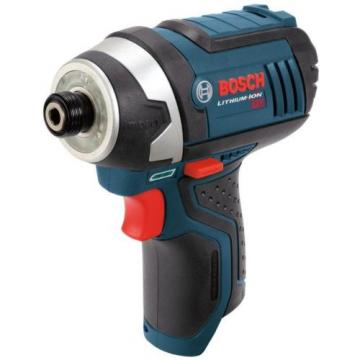 Bosch Impact Driver Cordless 12 Volt Lithium-Ion 1/4 in Variable Speed with Tray