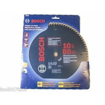 """Bosch CB1080 10-inch 80T Ultra Fine ATB Circular Saw Blade 5/8"""" Arbor"""