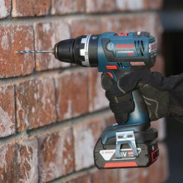 Bosch HDS182-02 18V Brushless 1/2in Compact Tough Hammer Drill/Driver Kit