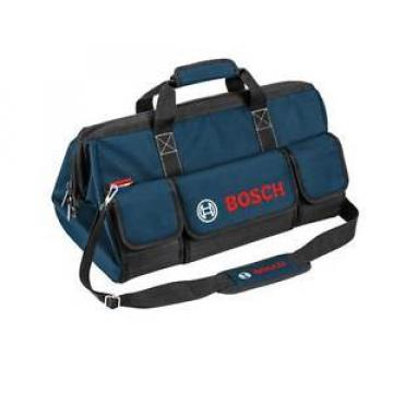 NEW! Bosch Premium Canvas Worksite Medium Tool Bag with Industrial Zippers
