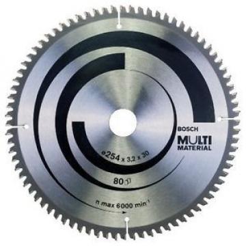 Bosch Zubehör 2608640450 - Lama per sega circolare multi materiale, 254 x 30 x