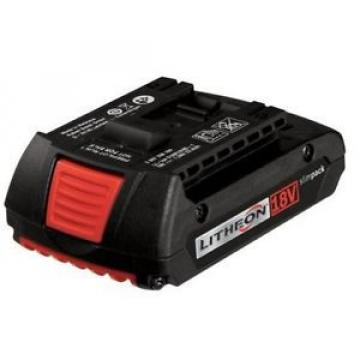 BOSCH BAT609 Lithium-Ion Double Lock Slim Pack Slide Battery 18 Volt 1.3 Ah