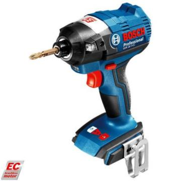 NEW! Bosch BRUSHLESS 18V Li-Ion Impact Driver Drill - GDR 18 V-EC BB - Skin Only
