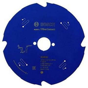 2608644124 Bosch-Lama per sega circolare, expert for fiber cement, Blu,