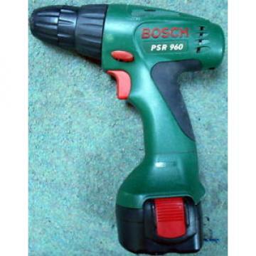 Bosch PSR 960 cordless drill no charger, no case