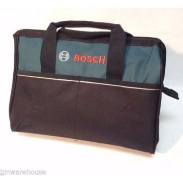 """New Bosch 16"""" Canvas Carring Tool Bag  2610023279 For 18v Tools 2 Outside Pocket"""