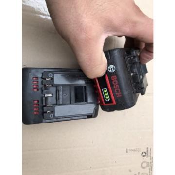 Genuine 2x Bosch 2607336815 18V 4.0Ah CoolPack Li-Ion Batteries