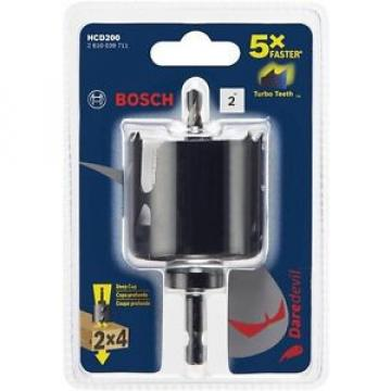 Bosch Daredevil 2 in. Wood Hole Saw with Arbor