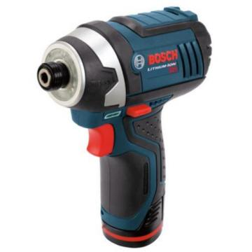 Bosch 12-Volt 1/4-in Cordless Variable Speed Impact Driver Tool with Soft Case