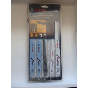 BOSCH RECIPROCATING SAW BLADE SET - BONUS POUCH - NEW IN PACK