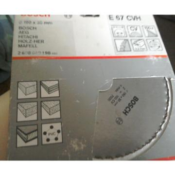 Bosch Circular Saw Blade 190mm x 30mm Bore (reducers available) x 100t. Free P&P