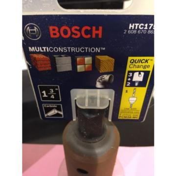 NEW BOSCH PCM38-MC MULTICONSTRUCTION HOLE SAW 3/8 MANDREL And 1 3/4 & 2 Inch