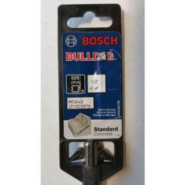 Lot of 4 BOSCH Bulldog SDS Plus Masonry Bits HCFC2040 HC2122 HC2083 HC2073