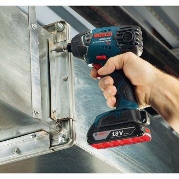 Bosch Cordless Combo Kit 2-Tool 18-Volt Lithium Ion Clpk222 Hammer W Soft Case