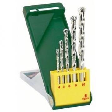 Bosch 2607019438 Set Misto 5 Punte Muro, 4-10 mm