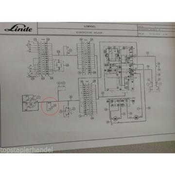 Micro interruptor Linde 0009733012 E12/15/20/25 L10/12 BR 035,141,324,325,