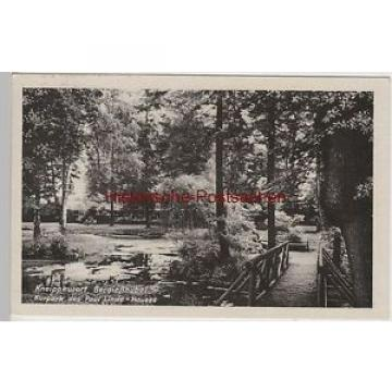 (80793) AK Berggießhübel, Kurpark des Paul Linde-Hauses, 1957