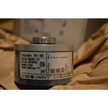 New in Box ,Leine & Linde Encoder RHI 503 Part no:536764-01 ,12 Months Warranty.