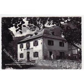 39049386 - Ried in Tirol mit Gasthaus zur Linde ungelaufen  kleiner Knick unten