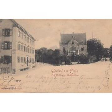 """Hechingen / Hohenzollern, Gasthof """"Zur Linde"""", 1899"""