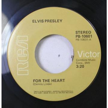 Rock 45 Dennis Linde - For The Heart / For The Heart On Rga