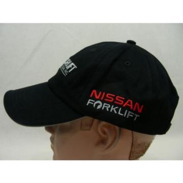 NORLIFT OF OREGON - NISSAN FORKLIFT - LINDE - ADJUSTABLE BALL CAP HAT!