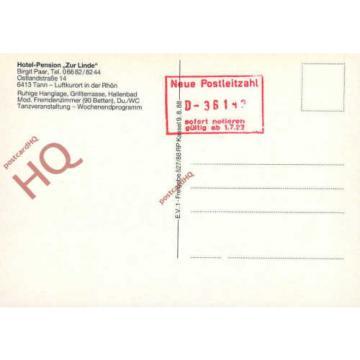 Postcard:;Tann, Hotel-Pension Zur Linde