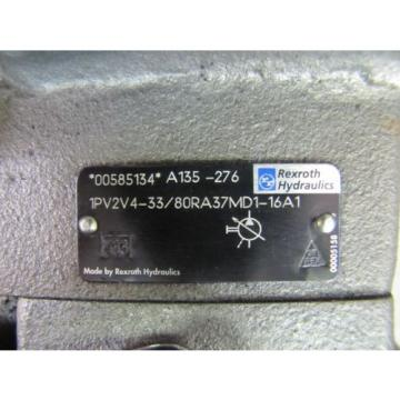 REXROTH Egypt Italy 1PV2V4-33/80RA37MD1-16A1 A135-276 00585134 VARIABLE VANE HYDRAULIC PUMP