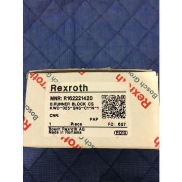 REXROTH Mexico Australia RUNNER BLOCK / BALL RAIL R162221420 PAIR