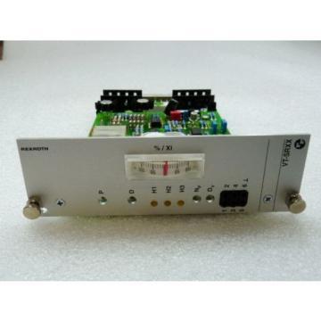 Rexroth India France VT-SRXX Analog Verstärker VT-SR11-12/11/4WRD32-5X ungebraucht in geöffne