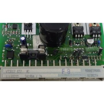 NEW Dutch USA BOSCH REXROTH VT3017 S37 AMPLIFIER BOARD VT3017S37