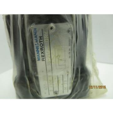Rexroth India Italy 2 FRM 6 B 36-21/25 QRV 2-Way Flow Control Valve