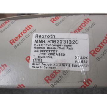 NEW France Canada REXROTH LINEAR BEARING # R162231320