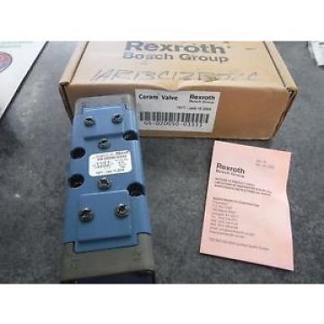 REXROTH Canada Canada CERAM VALVE GS020050-03333 *NEW*