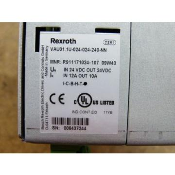 Rexroth Germany Singapore VAU01.1U-024-024-240-NN Power Supply   > ungebraucht! <