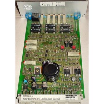 REXROTH Mexico Mexico AMPIFLIER CARD VT3000-36A