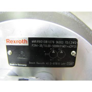 NEW Korea France REXROTH P2R4-30/10.00-500RK01M01+AZPF25 HYDRAULIC PUMP 1515800013 GEAR MOTOR