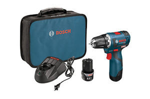 "Bosch PS32-02 Brushless Cordless Drill Driver Kit 12V Max Li-Ion 3/8"" NEW Tool"