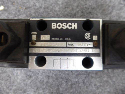 NEW Russia Canada BOSCH 9810231006 DIRECTIONAL VALVE # 081WV06P1V1004WS115/60 - D51
