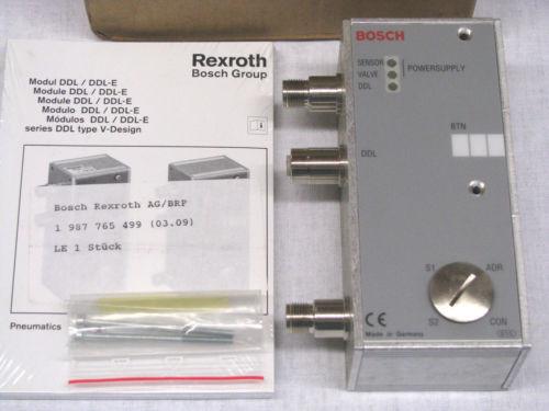 Bosch Korea Egypt Rexroth DDL Field Bus RMV-DDL-E Module 1827030190 BRAND NEW IN BOX NIB
