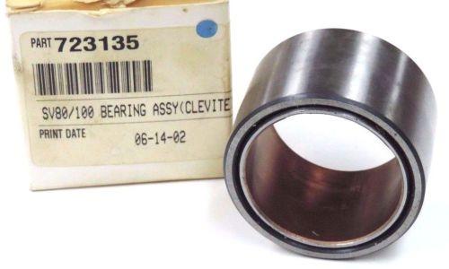 NIB Mexico Dutch REXROTH SV80/100 BEARING ASSY P/N: 723135 (CLEVITE)