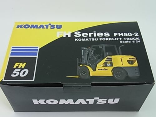 1/24 Komatsu Folk Lift FH50-2 diecast model brand new item Japan