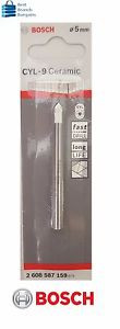 Bosch Drill Bit Cyl-9 Ceramic Tile 5X70mm GA14273 2608587159