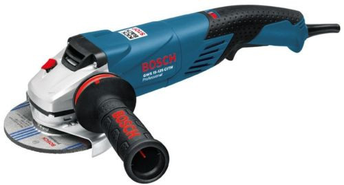 "NEW! Bosch GWS 15-125 CITH 1500W 125mm 5"" Angle Grinder"