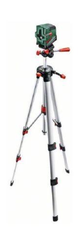 Bosch PCL 20 Cross Line Laser Level with Tripod Set