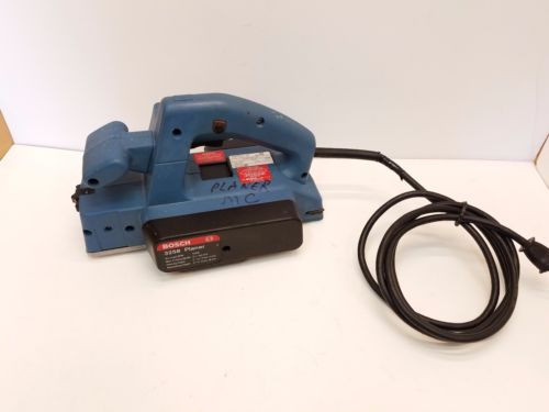 """Bosch 3258 Electric Planer two blades 5.7 Amp - 3 1/4"""" Made in Switzerland"""
